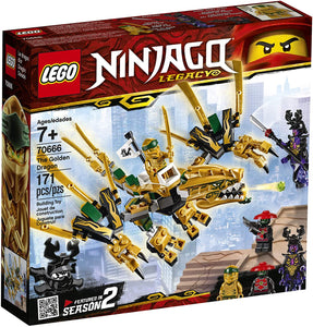 LEGO® Ninjago 70666 The Golden Dragon (171 pieces)