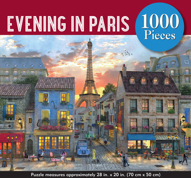 Evening in Paris Jigsaw Puzzle (1000 pieces)