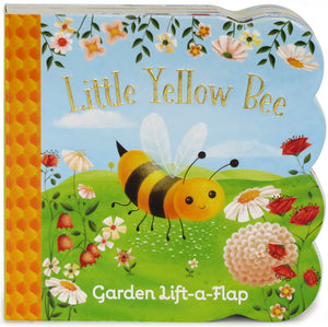 Little Yellow Bee: Lift-a-Flap Board Book