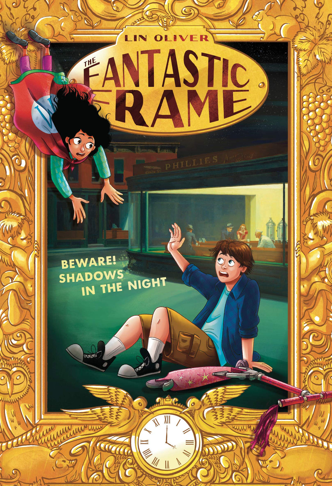 Beware! Shadows in the Night (Fantastic Frame Book 3)