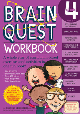 Brain Quest Workbook: Grade 4