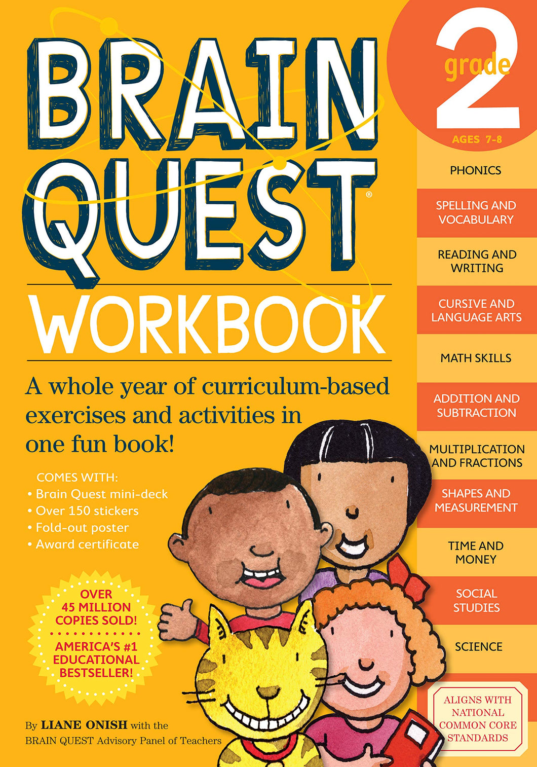 Brain Quest Workbook: Grade 2