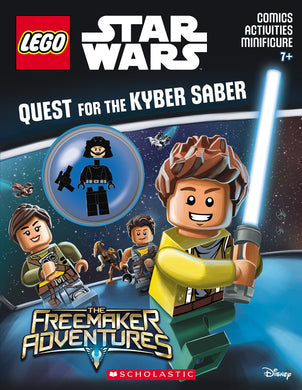 LEGO® Star Wars™: Quest for the Kyber Saber (Activity Book with Minifigure)