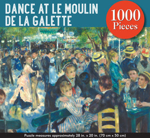 Dance at Le Moulin De La Galette Jigsaw Puzzle (1000 pieces)