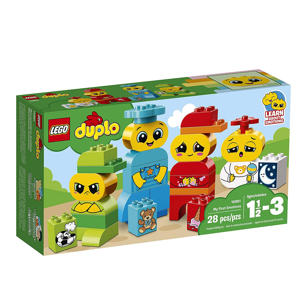 LEGO® DUPLO® 10862 My First Emotions (28 pieces)