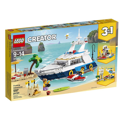LEGO® Creator 31083 Cruising Adventures (597 pieces)