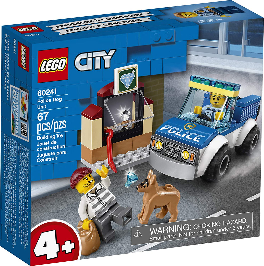 LEGO® CITY 60241 Police Dog Unit (67 pieces)