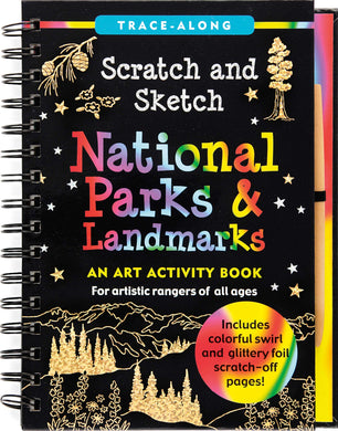 Scratch & Sketch National Parks & Landmarks