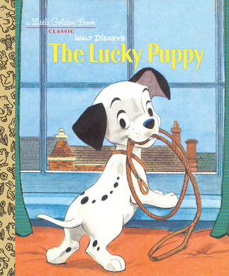 Walt Disney's The Lucky Puppy (Little Golden Books)