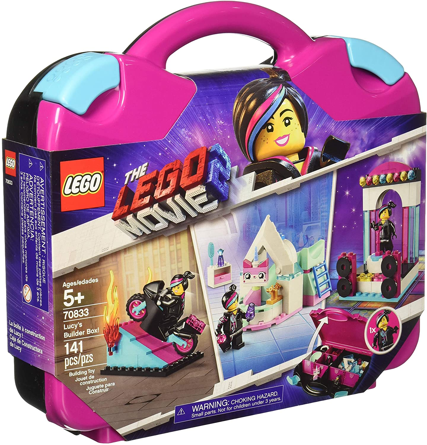 Lego 70833 The Lego Movie 2 Lucy S Builder Box 141 Pieces Aesop S Fable