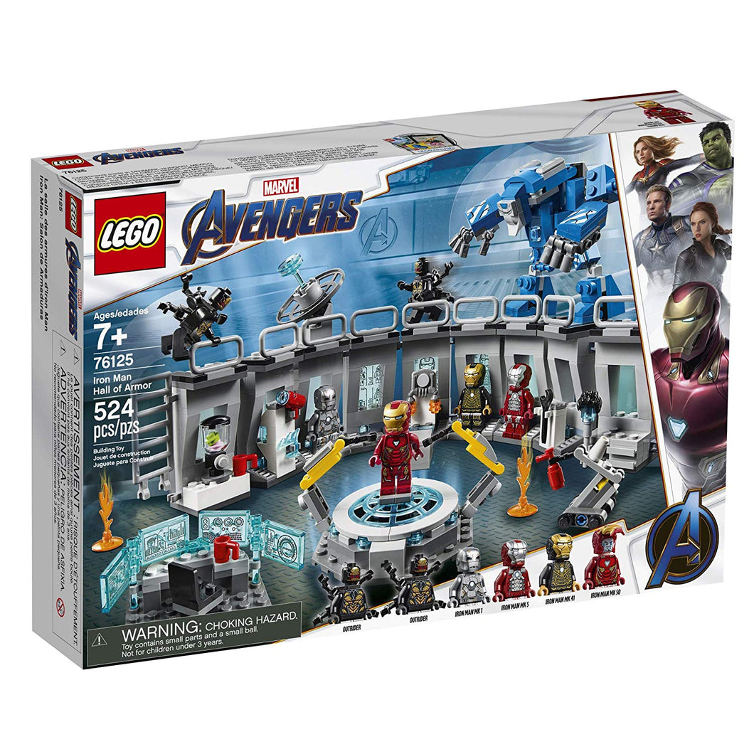 LEGO® Marvel Avengers 76125 Iron Man Hall of Armor (524 pieces)