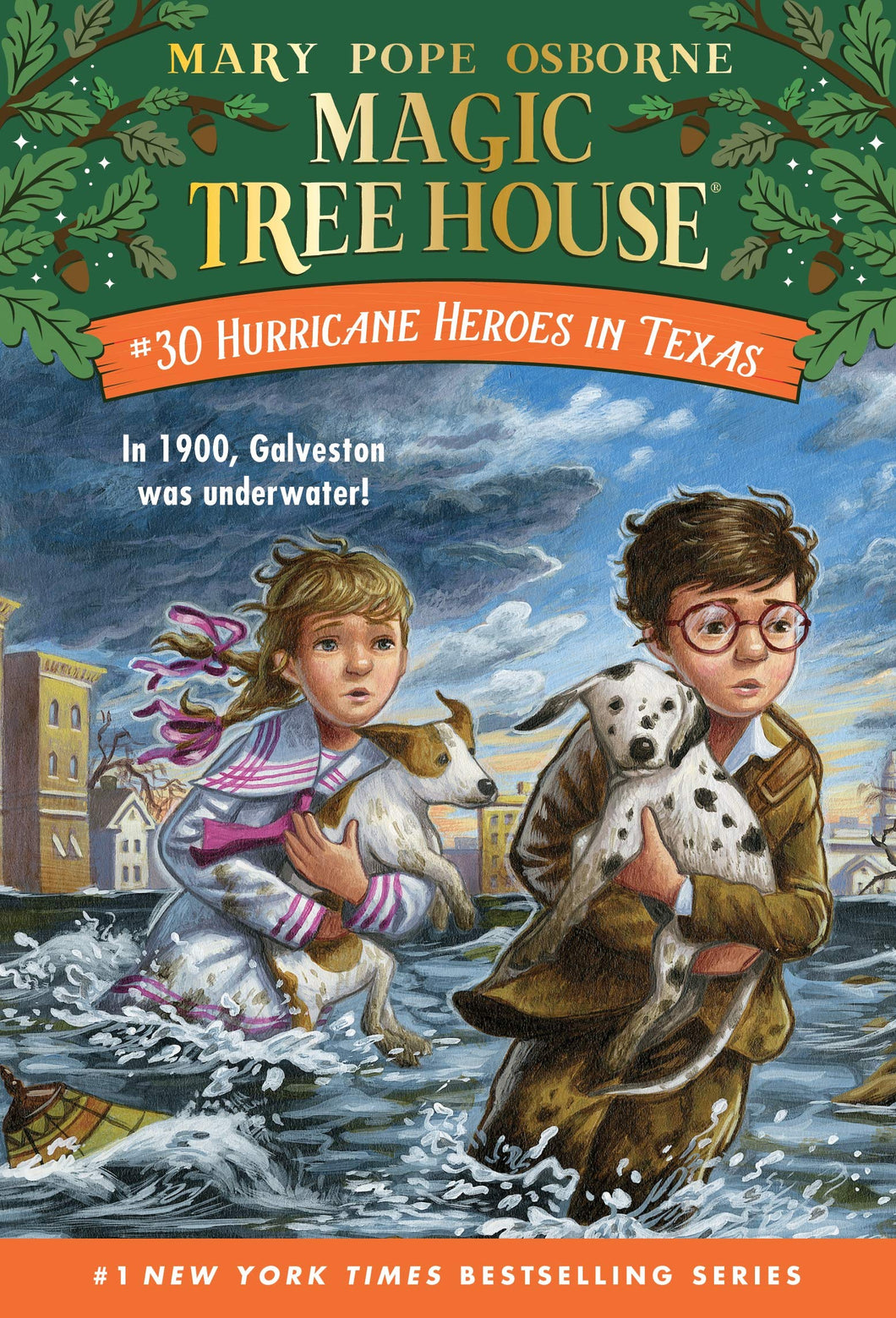 Hurricane Heroes in Texas (Magic Tree House, No. 30)