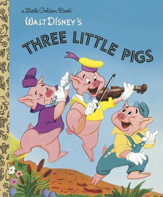 Walt Disney's The Three Little Pigs (Little Golden Books)