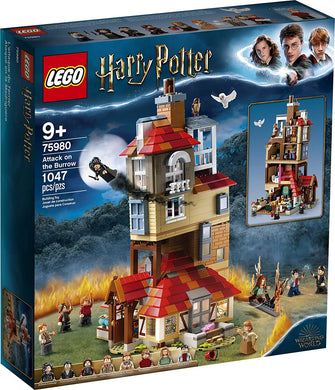 LEGO® Harry Potter 75980 Attack on the Burrow (1047 Piece)