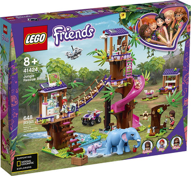 LEGO® Friends 41424 Jungle Rescue Base (648 pieces)