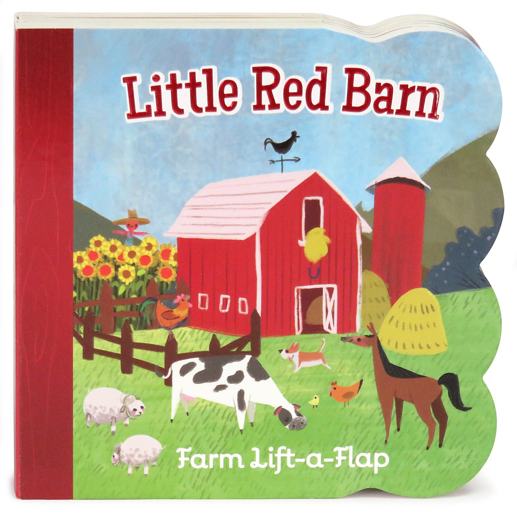 Little Red Barn: Lift-a-Flap Board Book