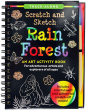 Load image into Gallery viewer, Scratch & Sketch Rain Forest