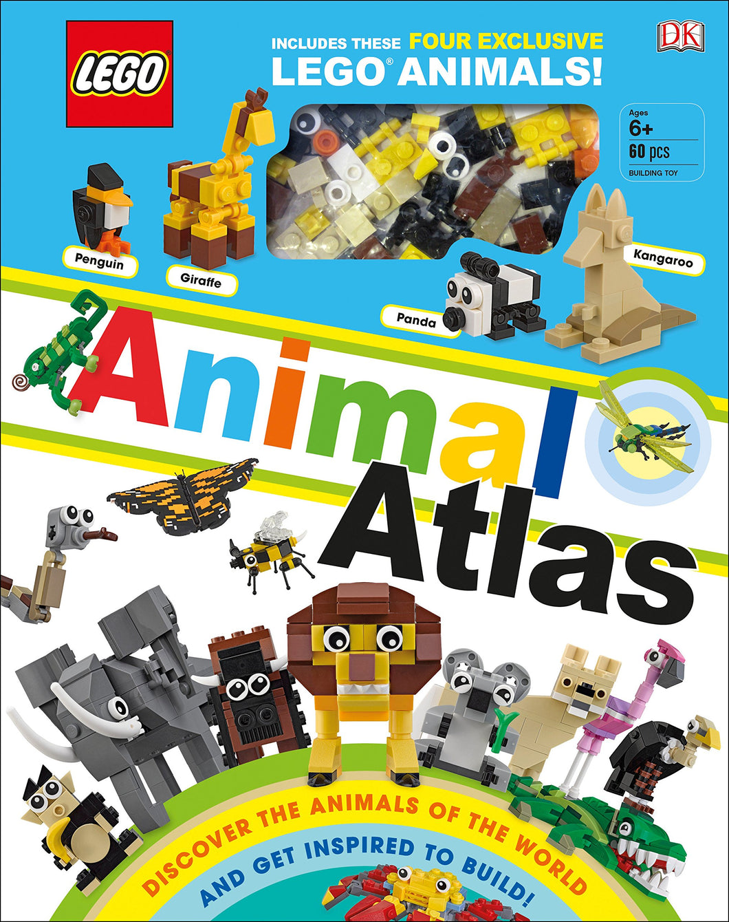 LEGO® Animal Atlas: Discover the Animals of the World and Get Inspired to Build!