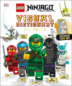 LEGO® NINJAGO Visual Dictionary with Exclusive Teen Wu Minifigure