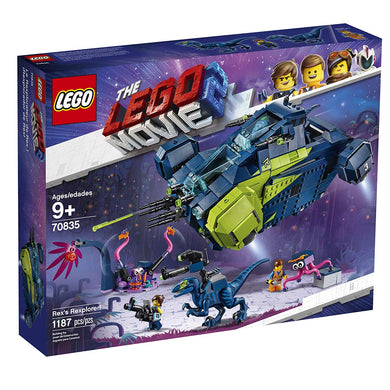 LEGO® 70835 The LEGO Movie 2 Rex's Rexplorer! (1172 pieces)