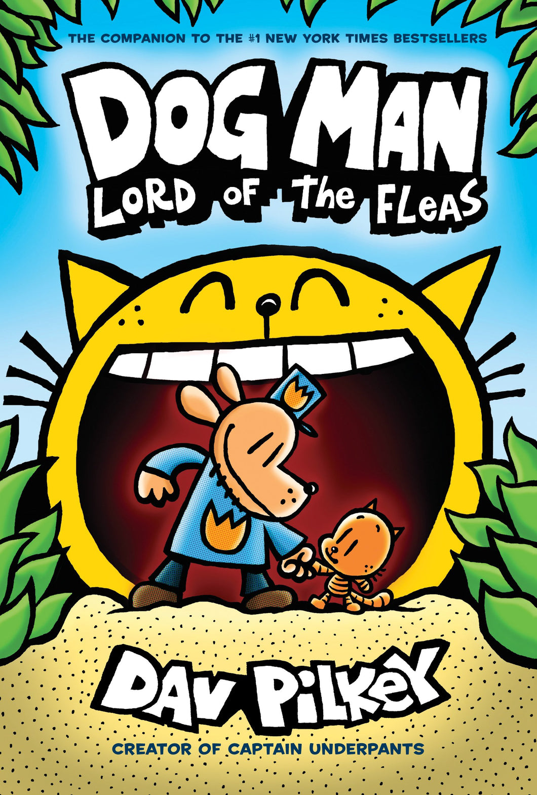 Dog Man: Lord of the Fleas (Book 5)