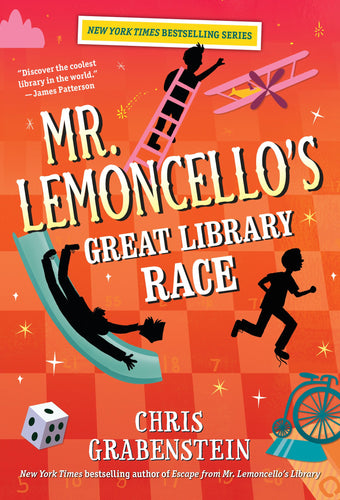 Mr. Lemoncello's Great Library Race (Book 3)
