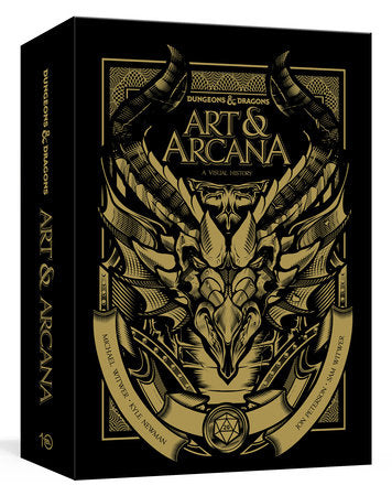 Dungeons and Dragons Art and Arcana: A Visual History (Deluxe Edition)