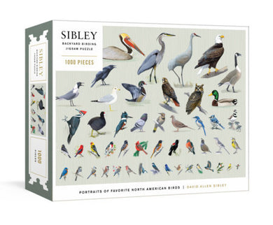 Sibley Backyard Birding Puzzle (1,000 pieces)