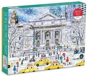 New York Public Library Puzzle (1000 pieces)