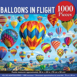 Balloons in Flight Jigsaw Puzzle (1000 pieces)