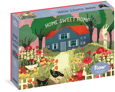 Home Sweet Home Puzzle (1000 pieces)