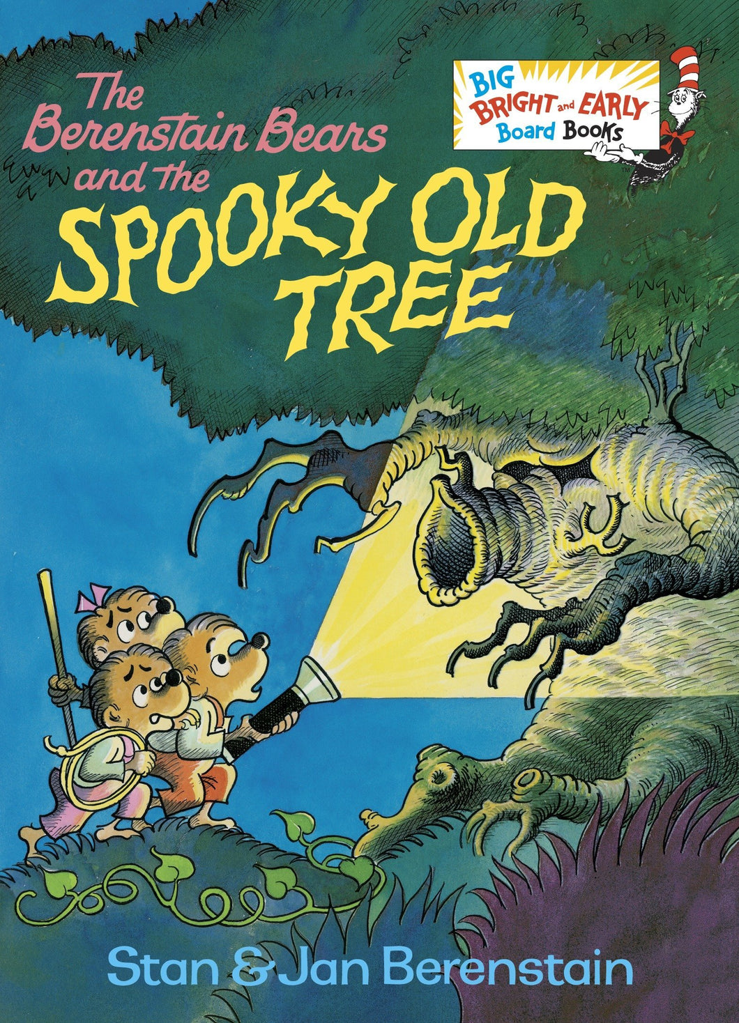 The Berenstain Bears and the Spooky Old Tree (Board Book)