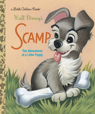 Walt Disney's Scamp (Little Golden Books)