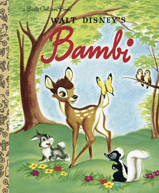 Walt Disney's Bambi (Little Golden Books)