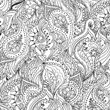 Load image into Gallery viewer, Peaceful Paisleys (Artist's Coloring Book)