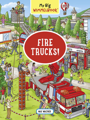My Big Wimmelbook―Fire Trucks!