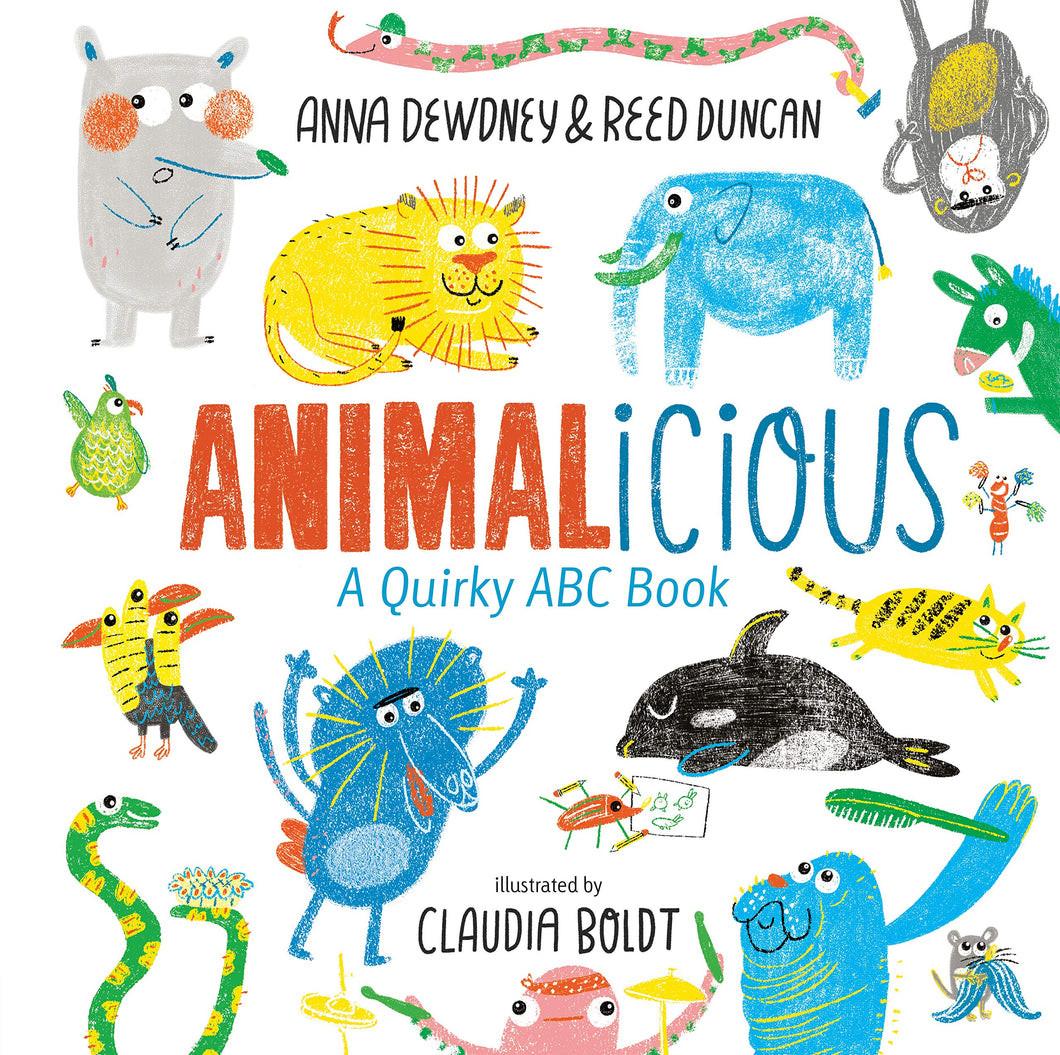 Animalicious: A Quirky ABC Book