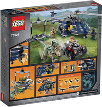 Load image into Gallery viewer, LEGO® Jurassic World 75928 Blue's Helicopter Pursuit (397 pieces)