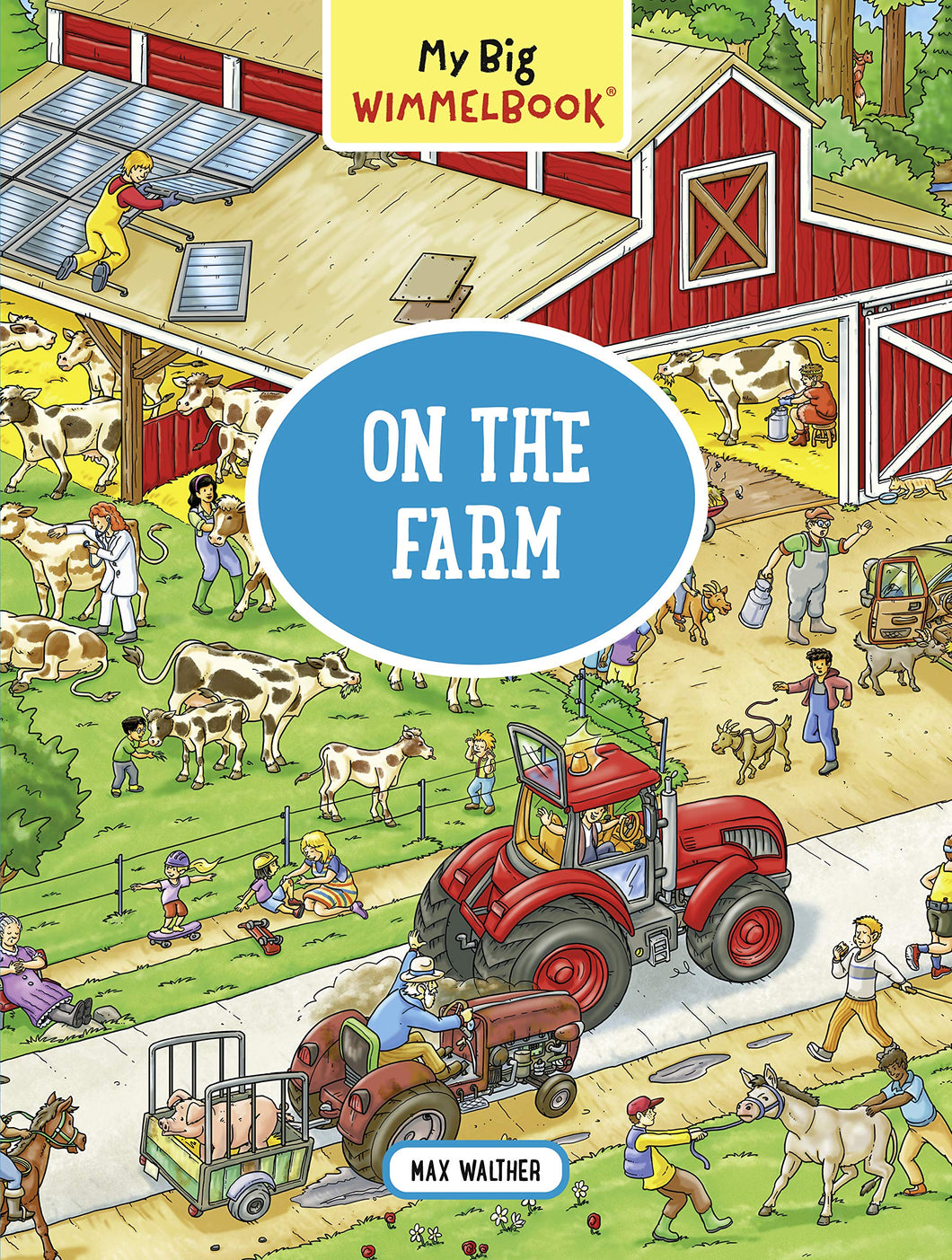 My Big Wimmelbook―On the Farm