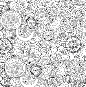 Peaceful Paisleys (Artist's Coloring Book)