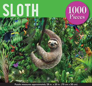 Sloth Jigsaw Puzzle (1000 pieces)