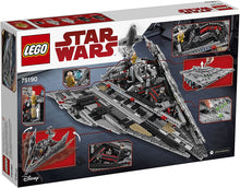 Load image into Gallery viewer, LEGO® Star Wars™ 75190 First Order Star Destroyer (1416 pieces)