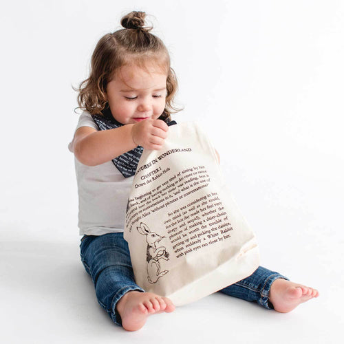Alice in Wonderland Kids Tote