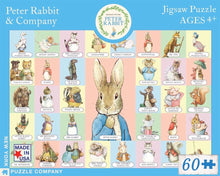 Load image into Gallery viewer, Peter Rabbit & Company (60 pieces)