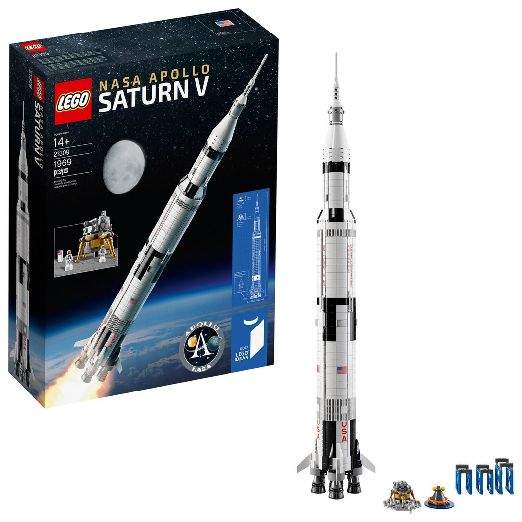 LEGO® Ideas 21309 NASA Apollo Saturn V (1969 pieces)