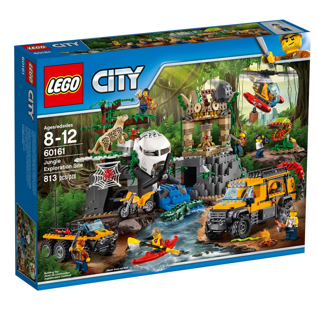 LEGO® CITY 60161 Jungle Exploration Site (813 pieces)