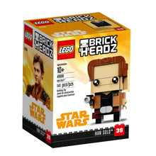 Load image into Gallery viewer, LEGO® BrickHeadz 41608 Star Wars™ Han Solo (141 pieces)
