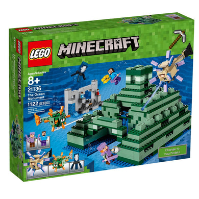 LEGO® Minecraft 21136 The Ocean Monument (1122 pieces)