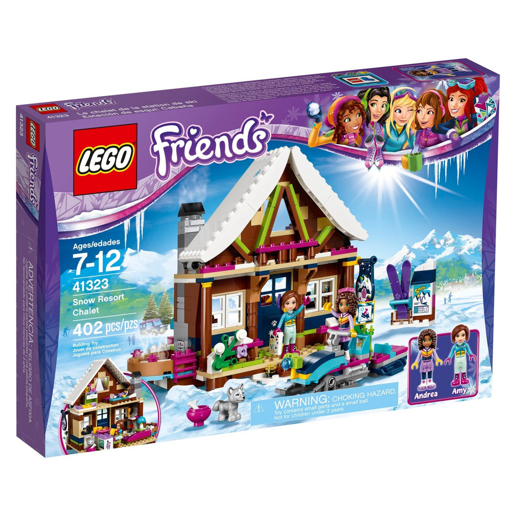 LEGO® Friends 41323 Snow Resort Chalet (402 pieces)