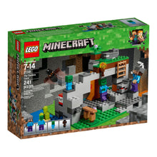 Load image into Gallery viewer, LEGO® Minecraft 21141 The Zombie Cave (241 pieces)